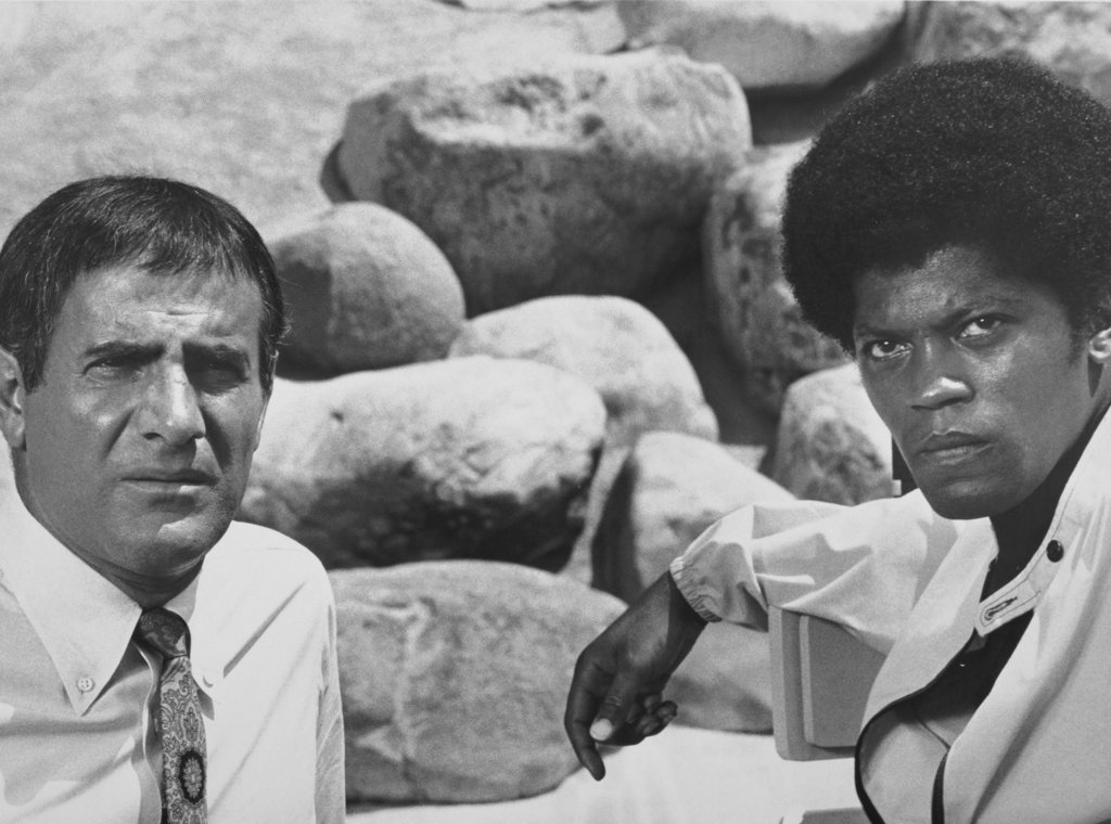Tige Andrews and Clarence Williams III The Mod Squad 1968 : Stock Photo