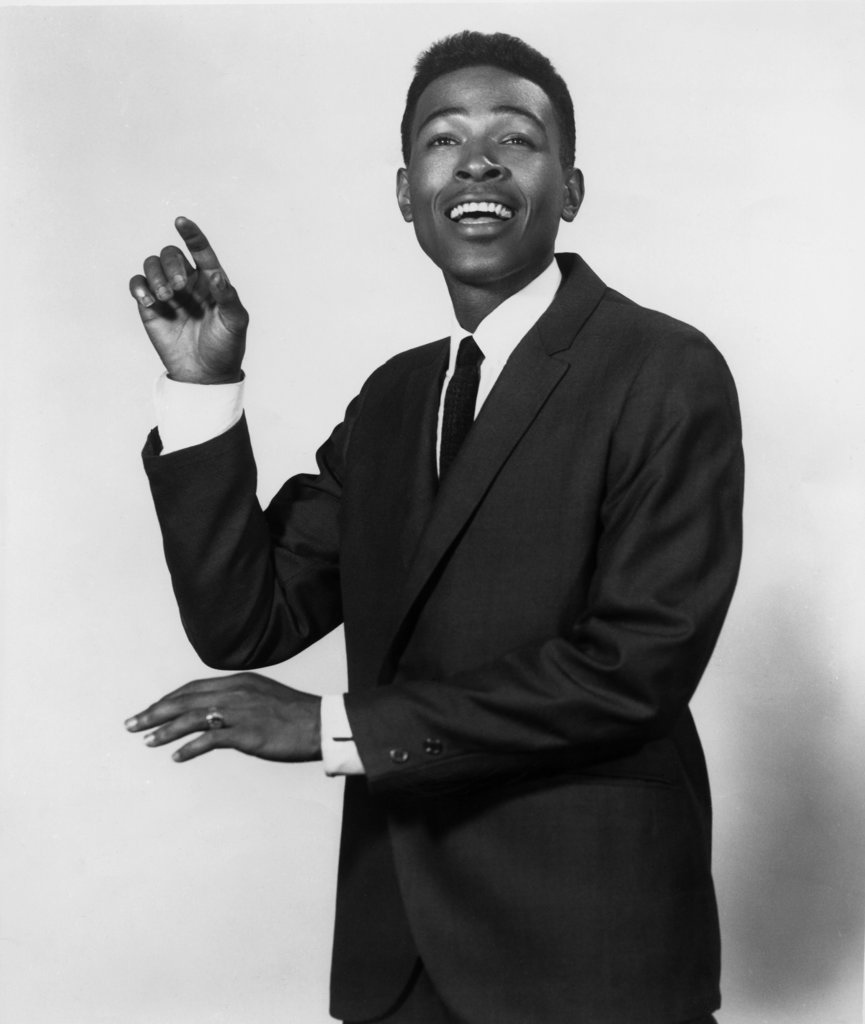 Stock Photo: 990-315 Marvin Gaye