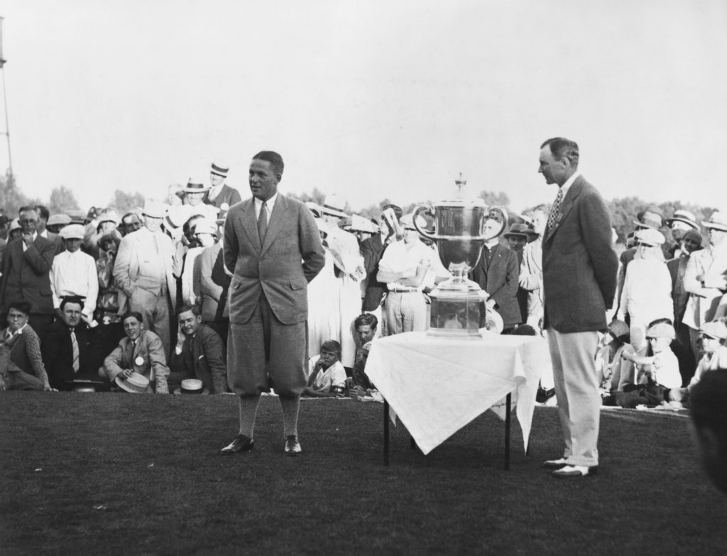 Stock Photo: 990-3223 Bobby Jones Professional Golfer