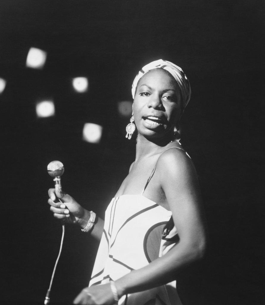 Stock Photo: 990-3324 Nina Simone