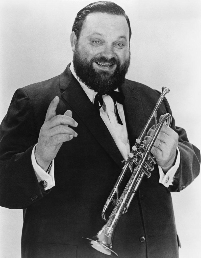 Stock Photo: 990-338 Al Hirt, Trumpeter and Bandleader (1922-1999)