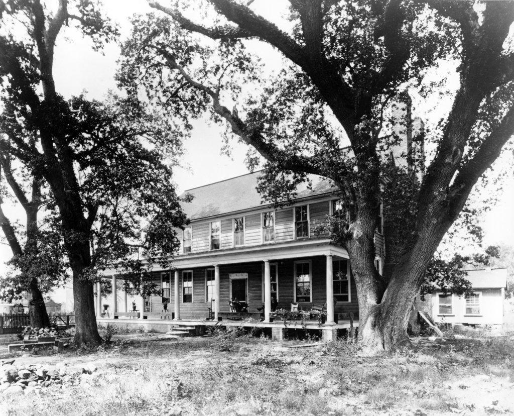 Stock Photo: 990-3392 USA, North Carolina, Bath, Palmer-Marsh House, build in 1744