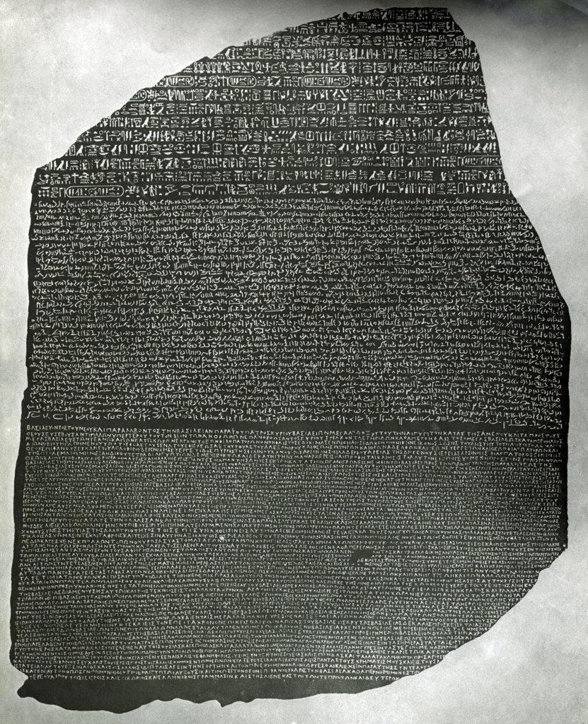 Stock Photo: 990-3630 Rosetta Stone