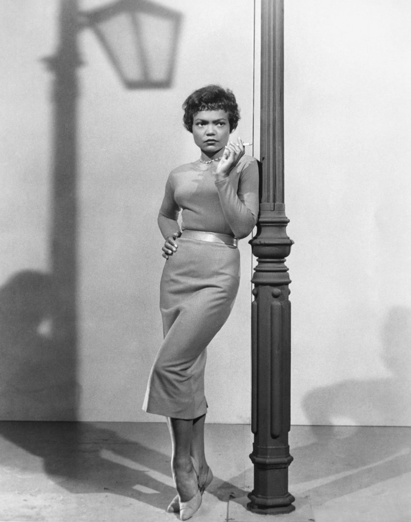 Stock Photo: 990-371 Eartha Kitt (b.1927- ), American actress, singer and cabaret star