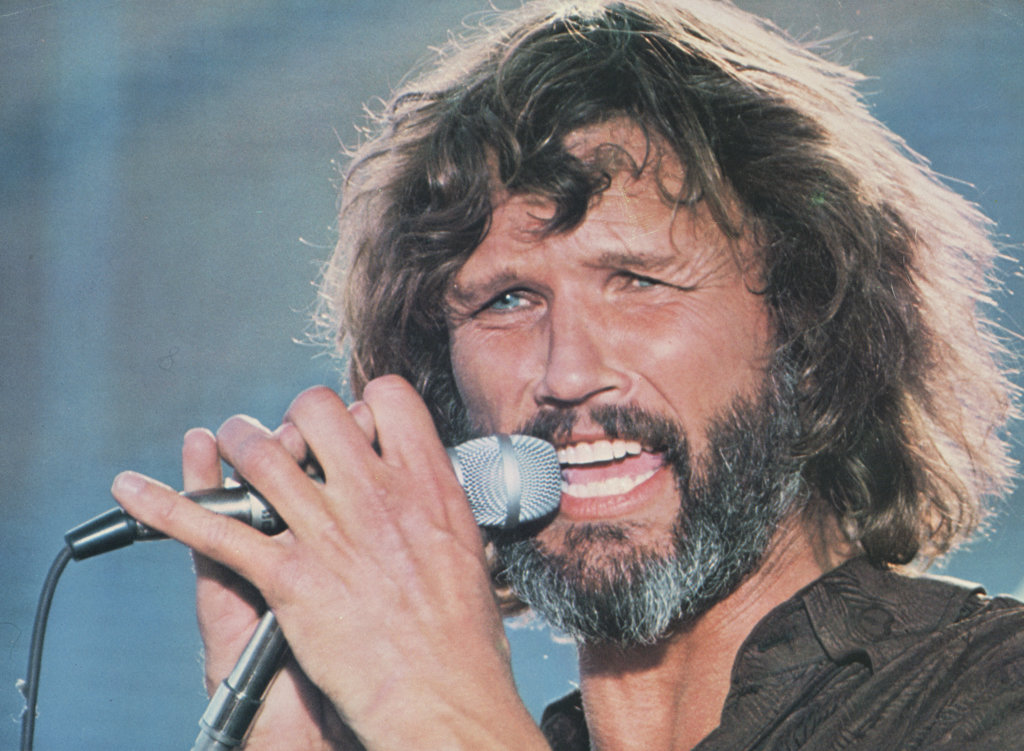 Kris Kristofferson A Star is Born 1976 : Stock Photo