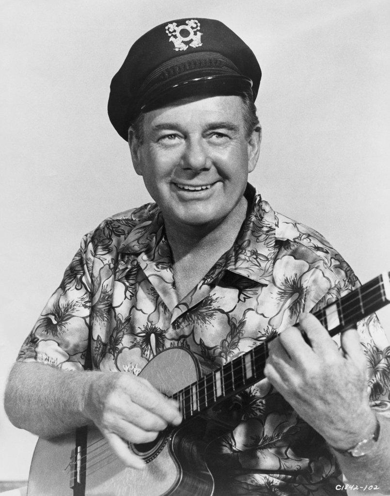 Stock Photo: 990-3749 Arthur Godfrey Broadcaster and Entertainer (1903-1983)