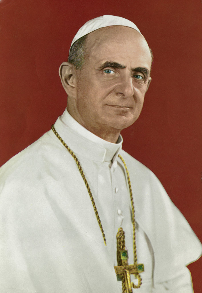 Stock Photo: 990-4208 Pope Paul VI