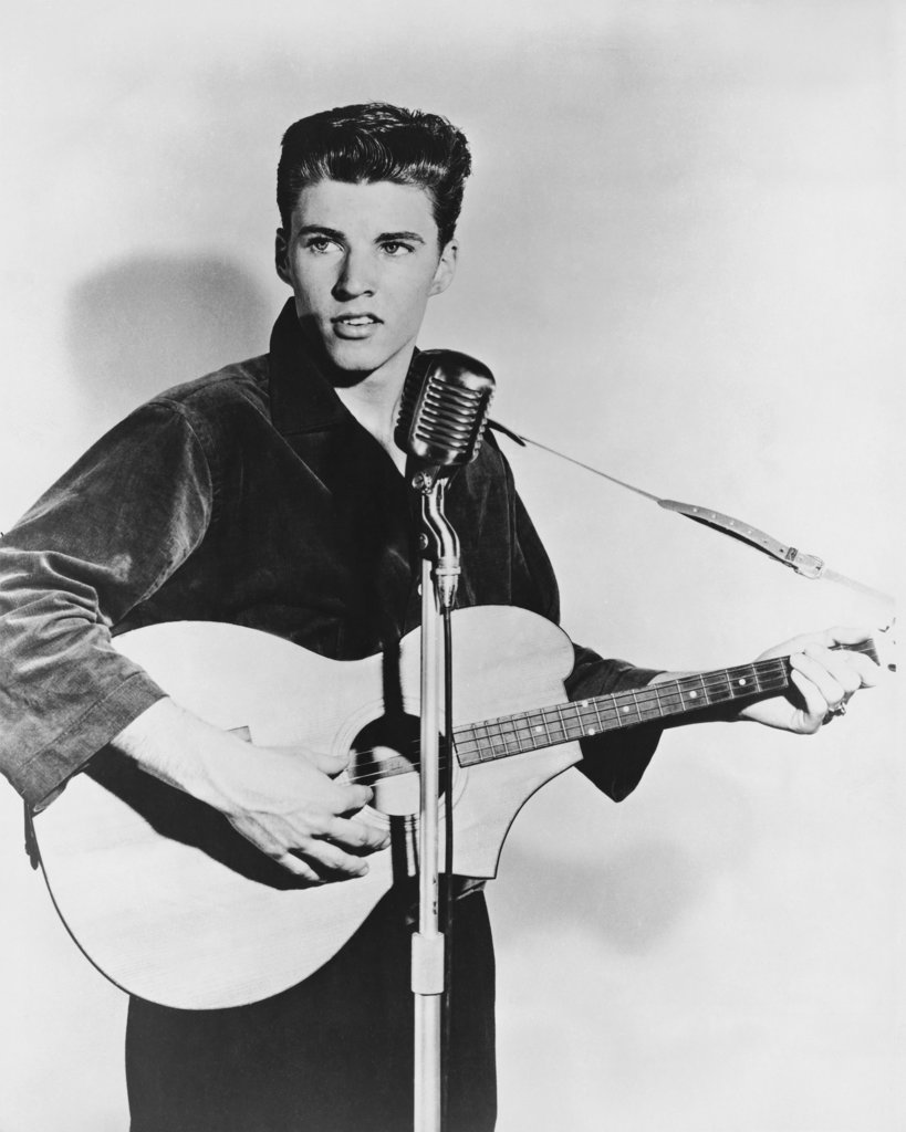 Stock Photo: 990-446 Ricky Nelson Singer and actor