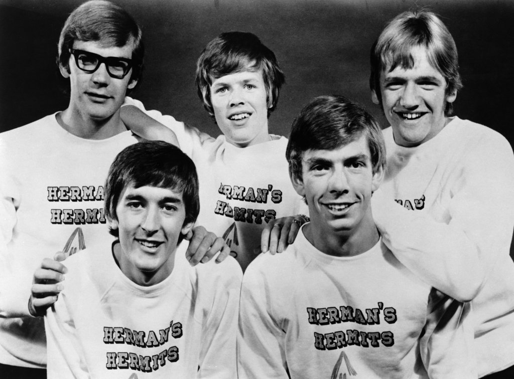 Stock Photo: 990-4496 Herman's Hermits, portrait