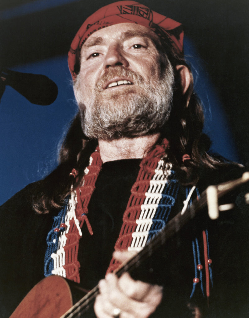Willie Nelson, Country Singer and Songwriter, (b.1933) : Stock Photo