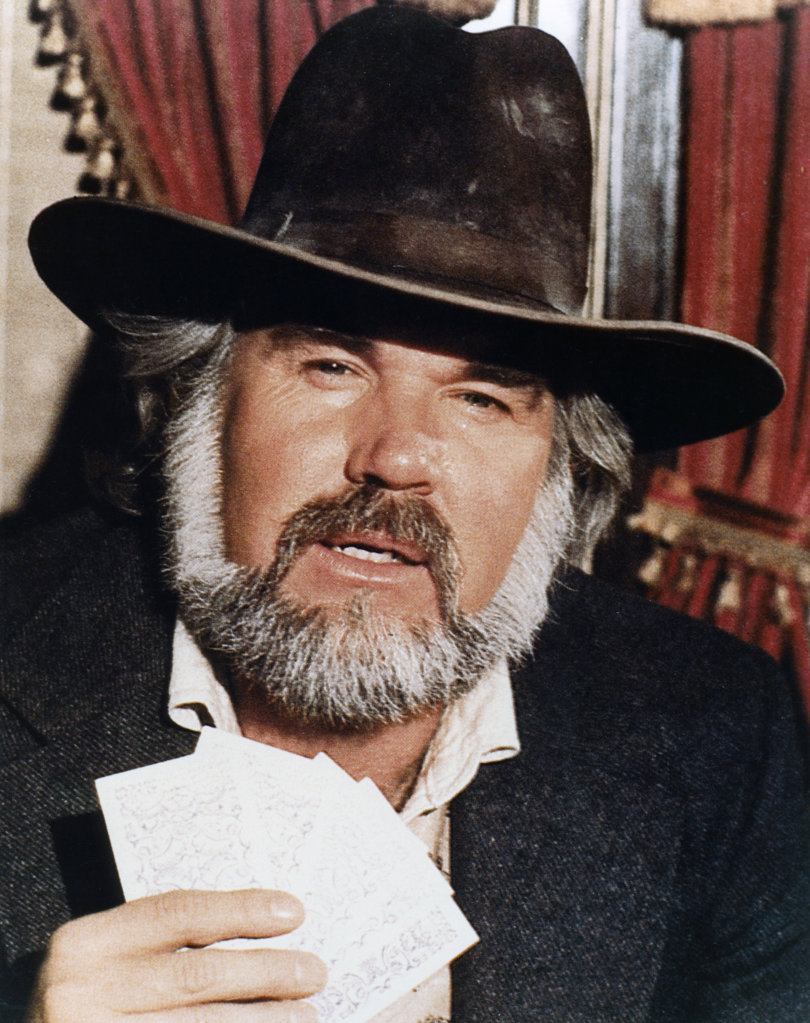 Stock Photo: 990-488 Kenny Rogers, The Gambler