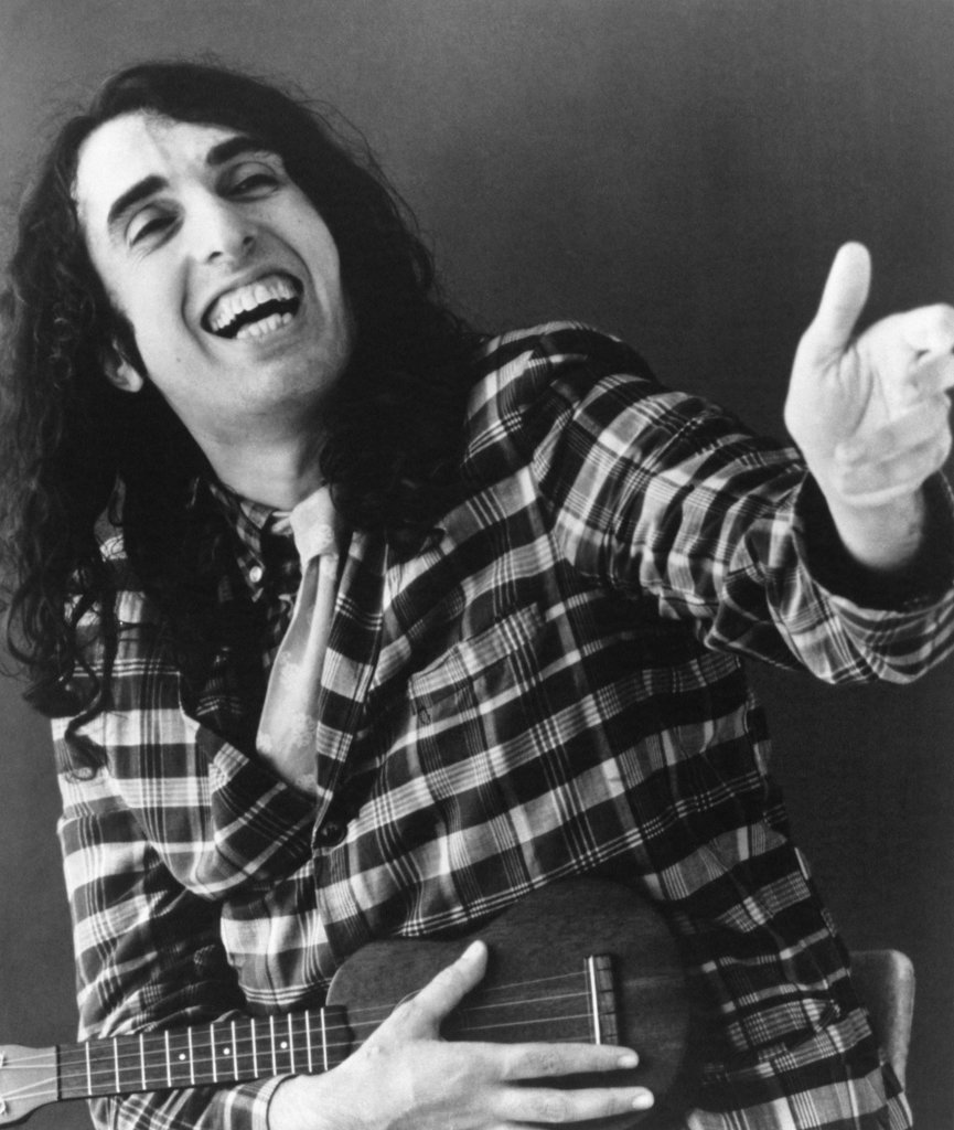 Stock Photo: 990-532 Tiny Tim, Singer and Entertainer (1932-1996)