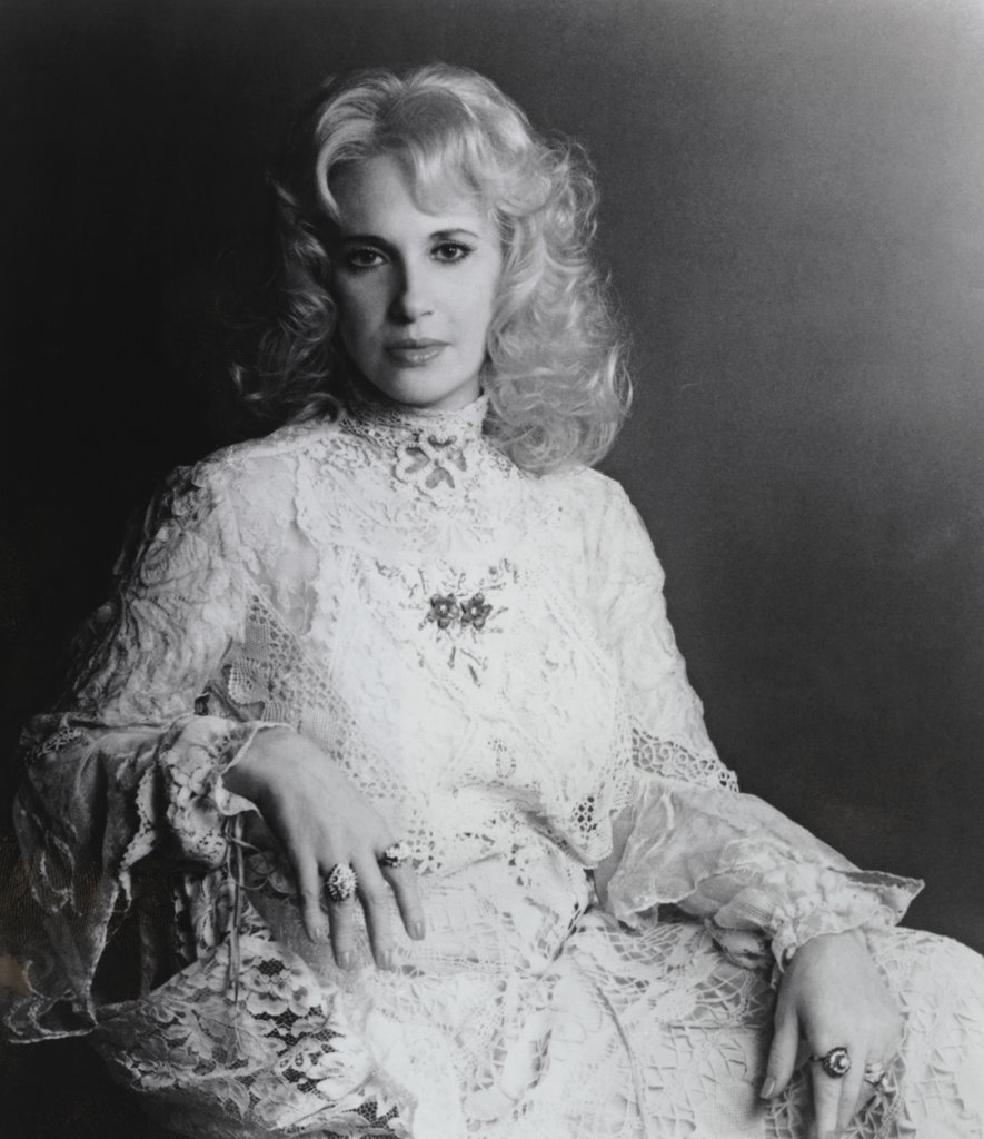 Stock Photo: 990-546 Tammy Wynette, Country Singer and Songwriter, (1942-1998)