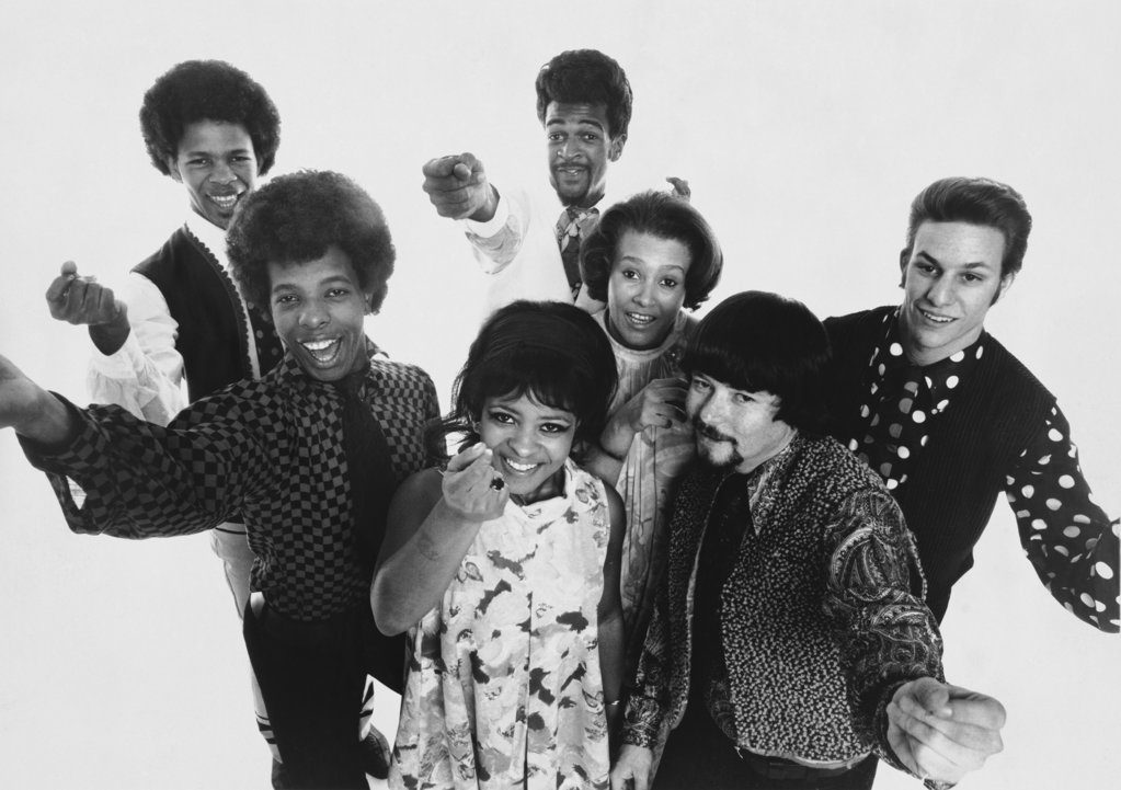 Stock Photo: 990-637 Sly and the Family Stone