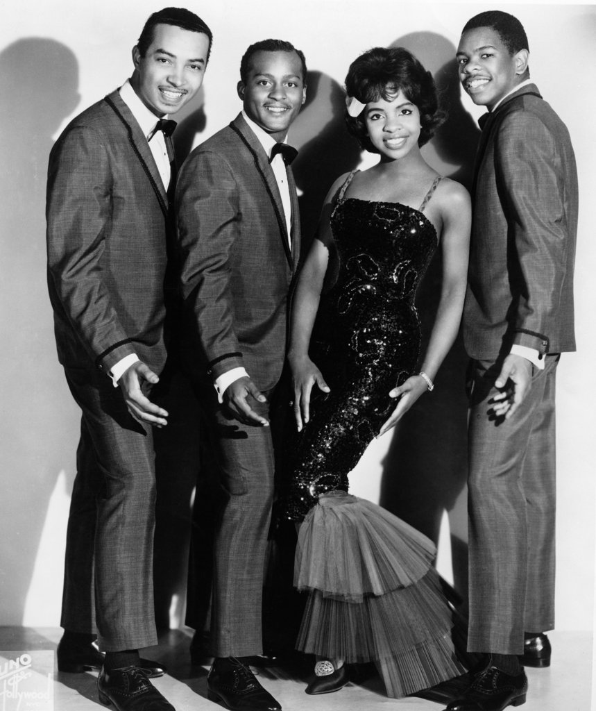 Stock Photo: 990-654 Gladys Knight and the Pips