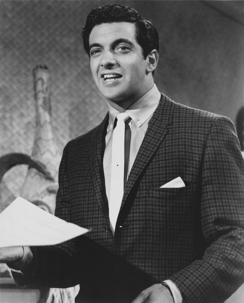 Frankie Vaughan Singer : Stock Photo
