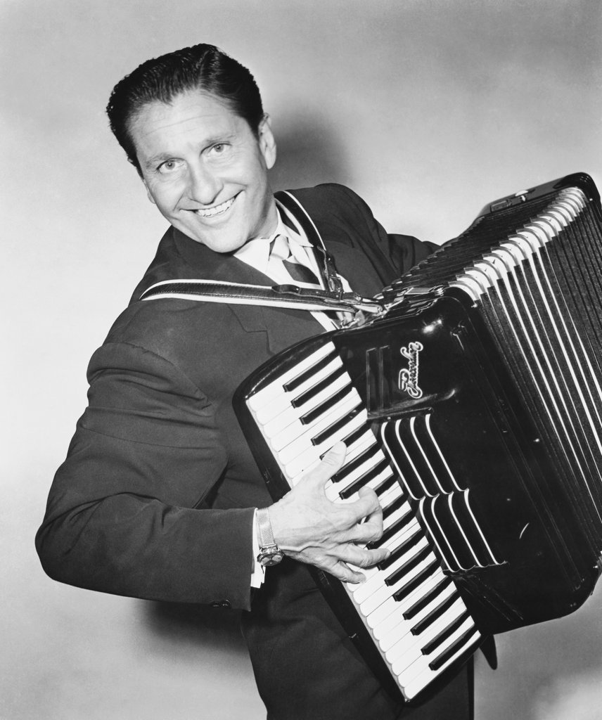 Stock Photo: 990-691 Lawrence Welk, Musician and Bandleader (1903-1992)