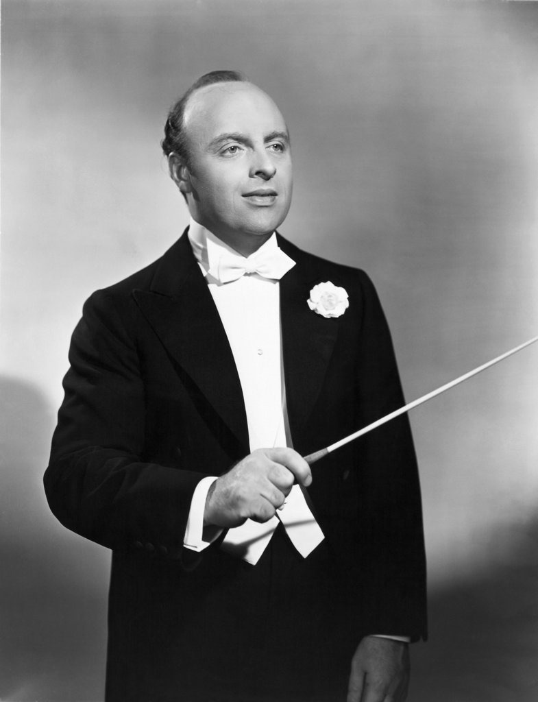 Stock Photo: 990-699 Andre Kostelanetz, (1901-1980), Conductor