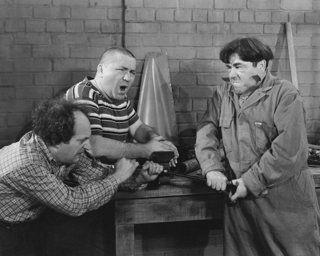 Three Stooges : Stock Photo
