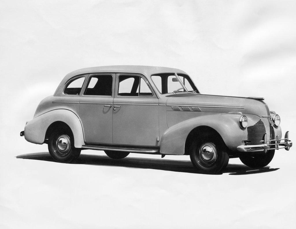 Vintage car, Pontiac, 1940 : Stock Photo