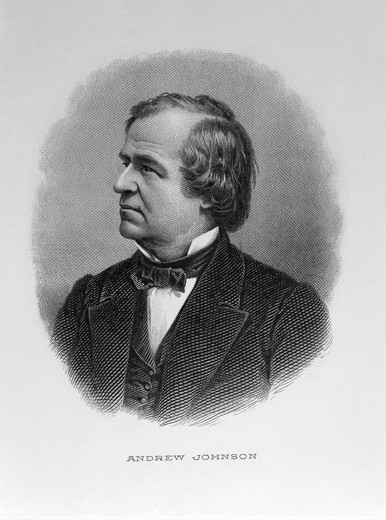 Stock Photo: 995-1007 Andrew Johnson
