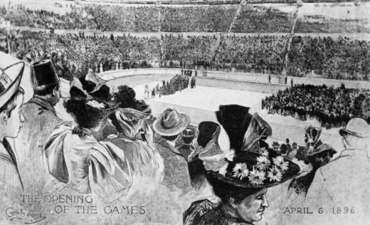 The Opening of the First Revival of the Olympic
