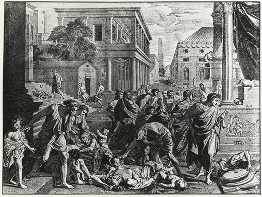Stock Photo: 995-103044 The Plague of the Philistines