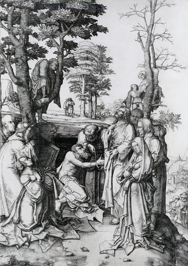 Stock Photo: 995-103097 The Raising of Lazarus