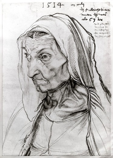Stock Photo: 995-103136 Portrait of the Artist's Mother