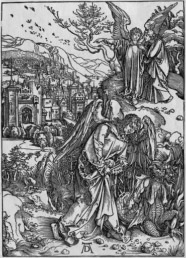 Stock Photo: 995-1153 The New Jerusalem & the Bottomless Pit