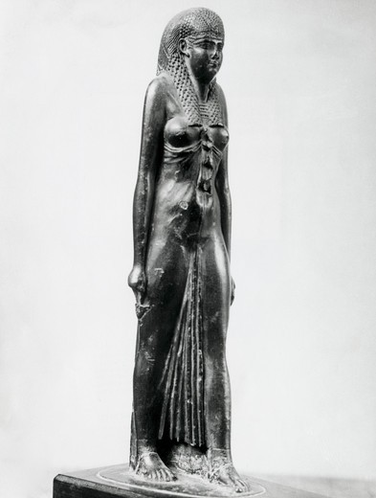 Hathor, Goddess Of Love And Mirth, Artist Unknown : Stock Photo