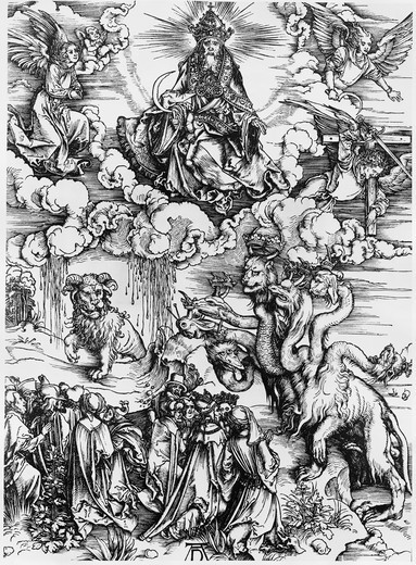 Stock Photo: 995-3620 The Whore of Babylon
