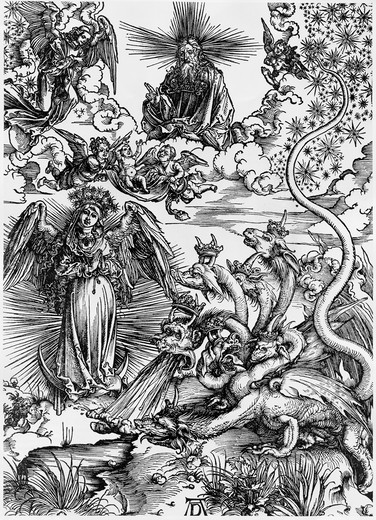 Stock Photo: 995-3621 The Apocalyptic Woman