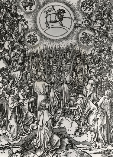Stock Photo: 995-3623 Adoration of the Lamb