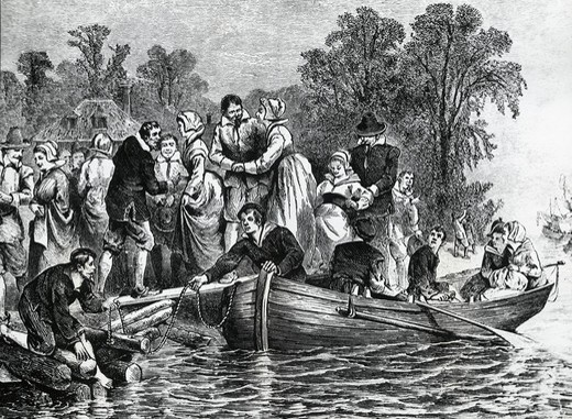 Stock Photo: 995-4231 A Shipload of Wives, Wedding Belles 1619 American History