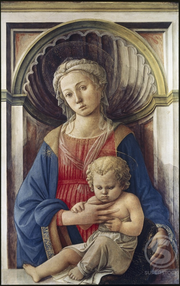 Stock Photo: 998-106 Madonna & Child 