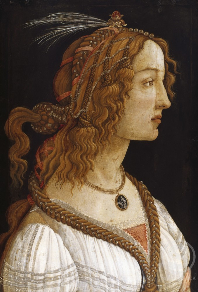Stock Photo: 998-111 Portrait of a Young Woman 