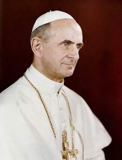Stock Photo: 998-4206 Pope Paul VI