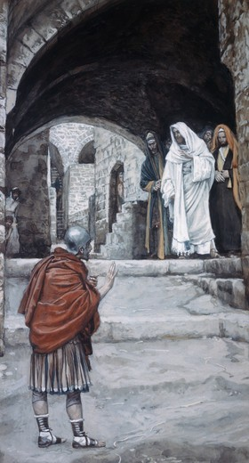 Stock Photo: 999-112 Lord, I am not Worthy