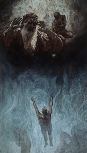 Stock Photo: 999-136 The Rich Man in Hell James Tissot (1836-1902 French)
