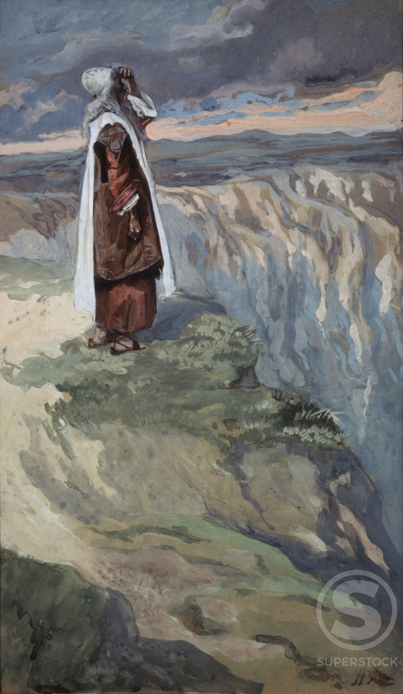 Stock Photo: 999-140 Moses Sees the Promised Land From Afar