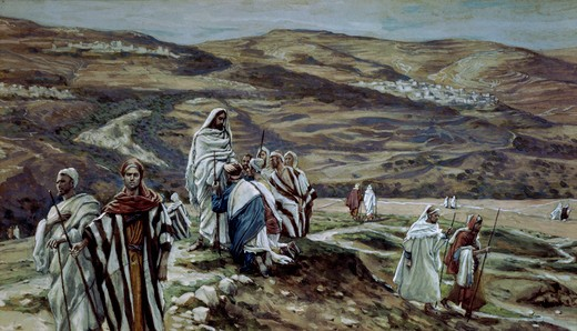 Christ Sending Out the Seventy Disciples Two by Two