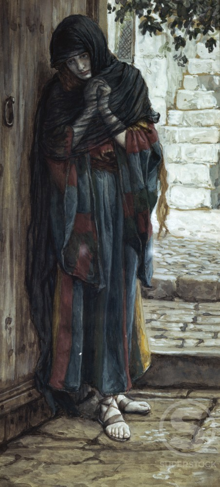 Stock Photo: 999-155 The Repentant Magdalene