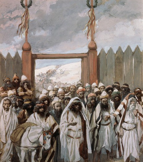 Stock Photo: 999-156 The Craftiness of the Gideonites