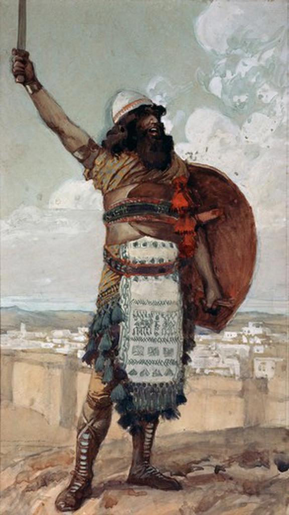 Stock Photo: 999-163 Othniel James Tissot (1836-1902 French) Jewish Museum, New York City