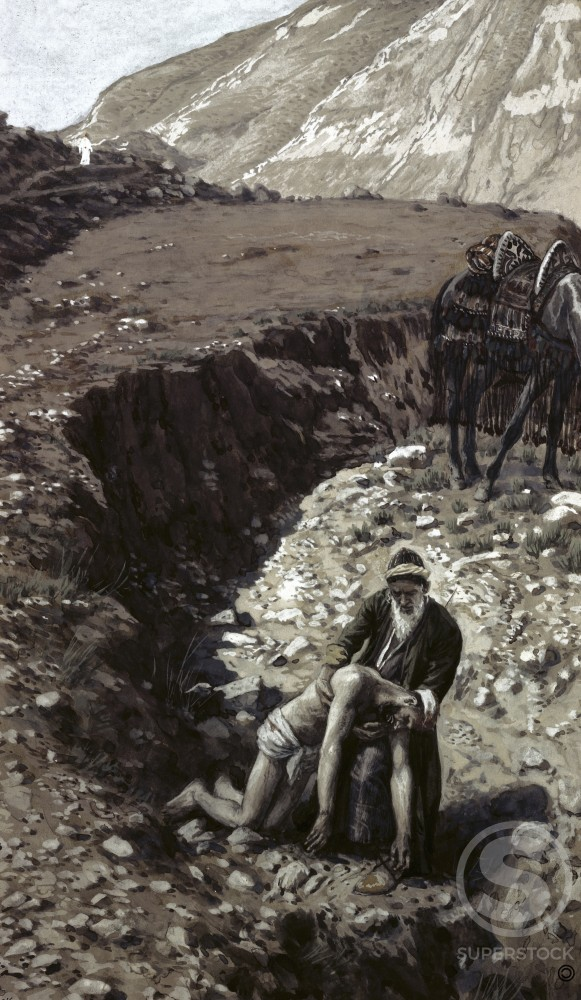Stock Photo: 999-175 The Good Samaritan