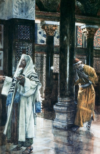 Stock Photo: 999-178 Pharisee and the Publican