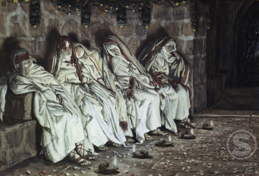 Stock Photo: 999-179 The Wise Virgins