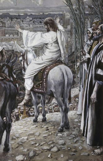 Jesus Beheld the City and Wept Over It