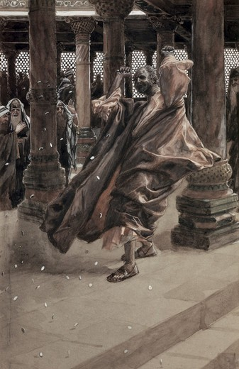 Stock Photo: 999-255 Judas Repents & Returns the Price of Blood